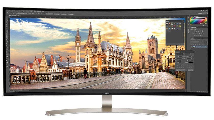 LG presenta monitores curvados y son impresionantes