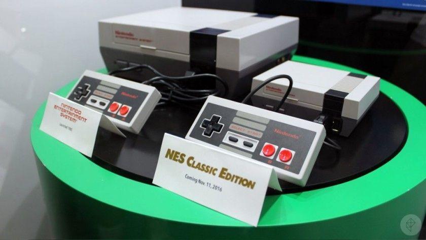 NES Mini tiene modos de visionado clásicos para emular pantallas CRT