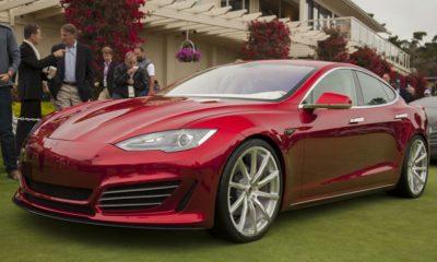 Un Tesla Model S arde totalmente durante una conducción de prueba 84
