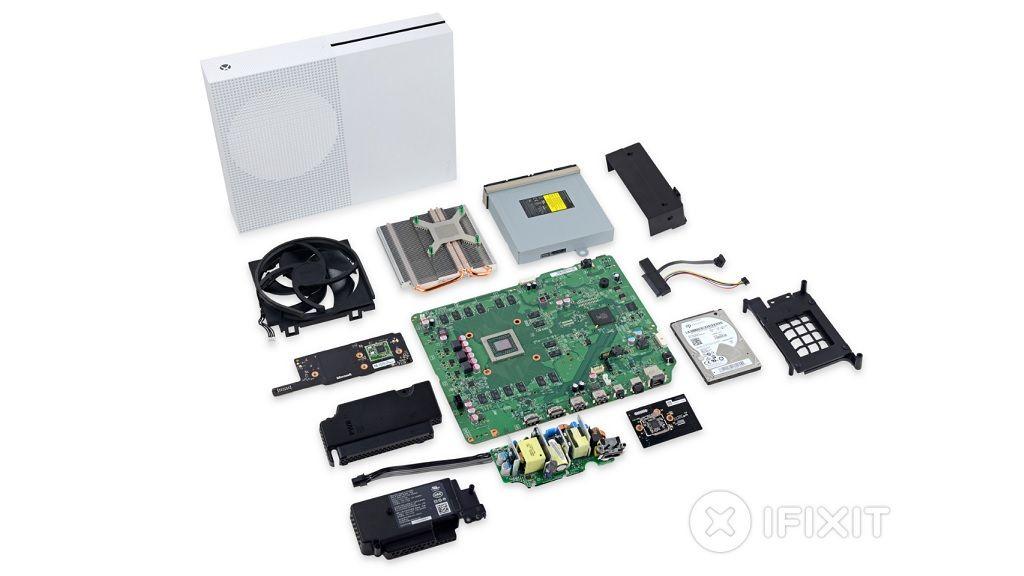 iFixit desmonta la nueva Xbox One S, así es por dentro 29