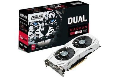 ASUS presenta Radeon RX 480 DUAL con 4 GB, un modelo asequible