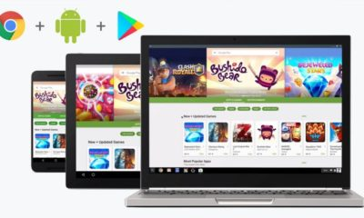 Google Play Store ya disponible en canal estable para algunos Chromebooks 37