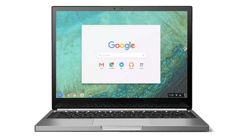 Chromebook con lector de huellas dactilares en camino 29