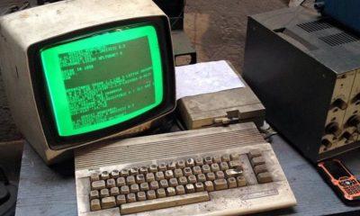 Un Commodore 64 de hace 30 años es el corazón de este taller 29