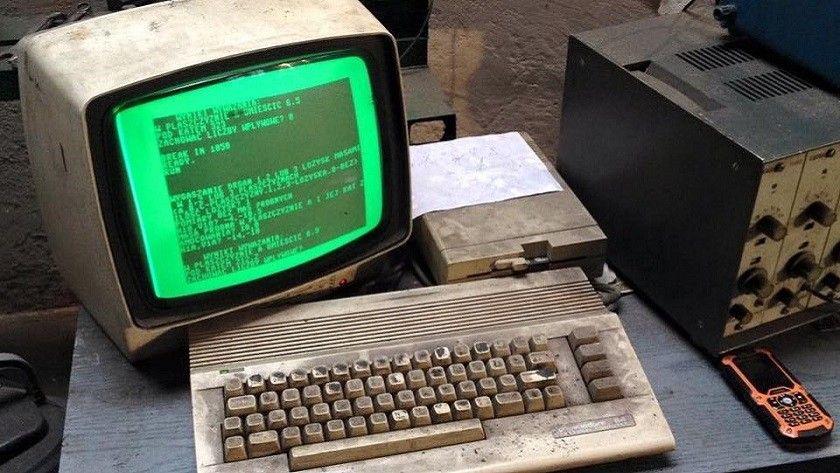 Un Commodore 64 de hace 30 años es el corazón de este taller