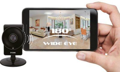 D-Link presenta la nueva cámara DCS-960L WiFi con visión de 180 grados 104
