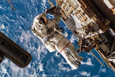 Así entrena la NASA para los paseos espaciales (vídeo en 360 grados)