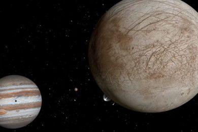 ¿Agua en la luna Europa? NASA apunta a ello