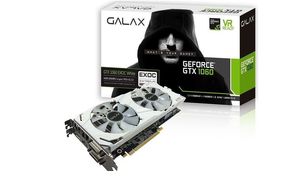 GALAX presenta su nueva GeForce GTX 1060 6GB EXOC 31