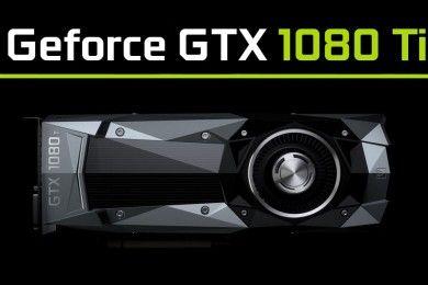 GTX 1080 Ti llegaría en enero, rendiría casi igual que la GTX TITAN X P