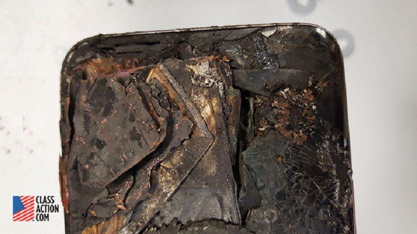 Un Galaxy S7 edge explota en el bolsillo de un trabajador 29