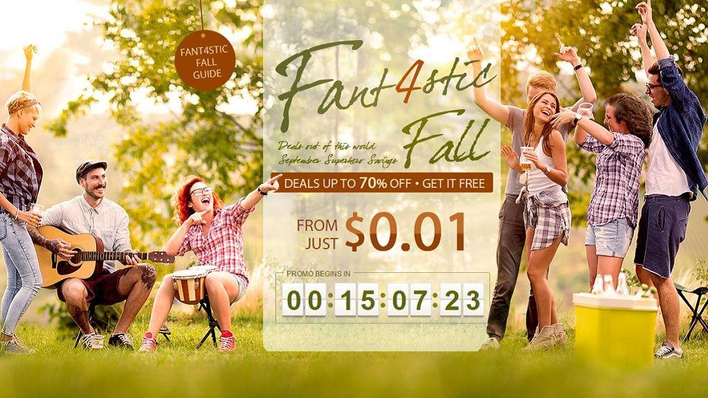No te pierdas la Fant4stic Fall, ofertas estupendas en Gearbest 30