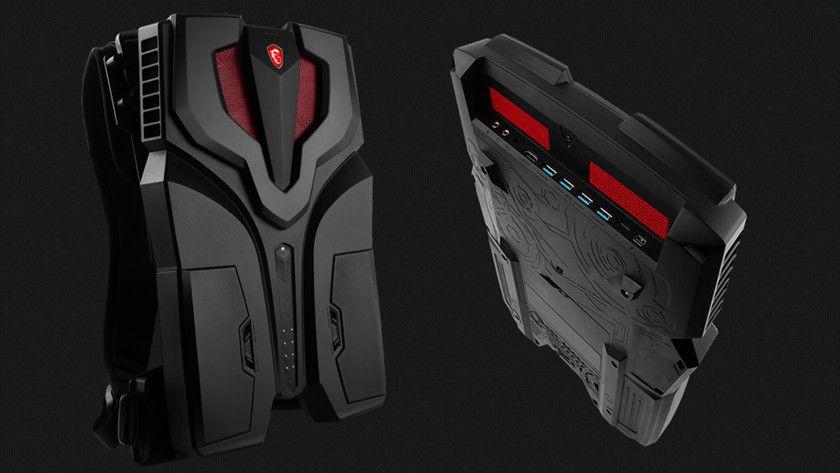 MSI VR One, la mochila para realidad virtual debuta en el TGS
