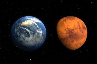 La NASA quiere ideas para poder sobrevivir en Marte