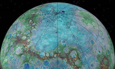 Mercurio tiene una gran actividad tectónica, al igual que la Tierra 40