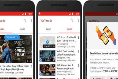Youtube Go permitirá descargar vídeos y compartirlos offline