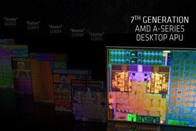 AMD presenta su séptima generación de APUs Bristol Ridge