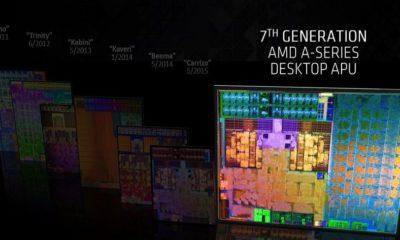 AMD presenta su séptima generación de APUs Bristol Ridge 40