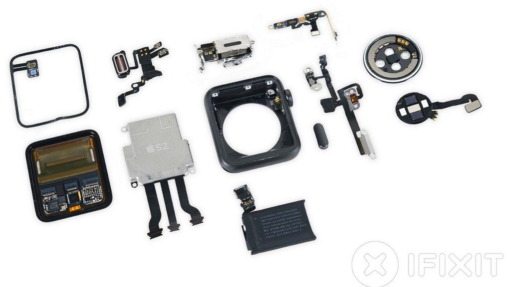 iFixit desmonta el Apple Watch Series 2, así es por dentro 29