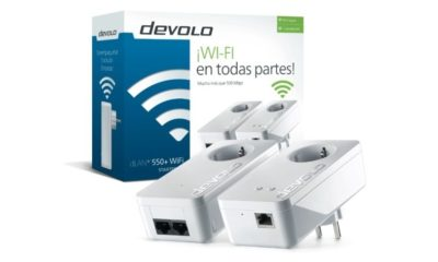 Devolo anuncia la disponibilidad del PCL-Powerline dLAN 550+ WiFi 44