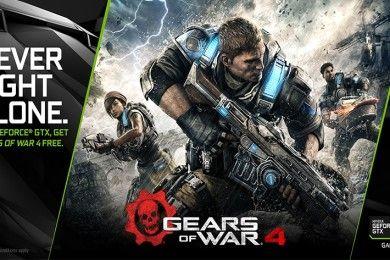 Gears of War 4 gratis con las GTX 1080 y GTX 1070 de NVIDIA