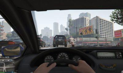 Los coches autónomos están aprendiendo a conducir con GTA 55
