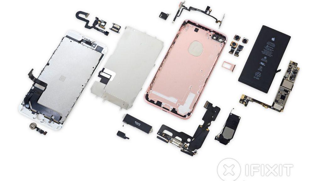 iFixit desmonta el iPhone 7 Plus y lo puntúa con un 7 sobre 10 27