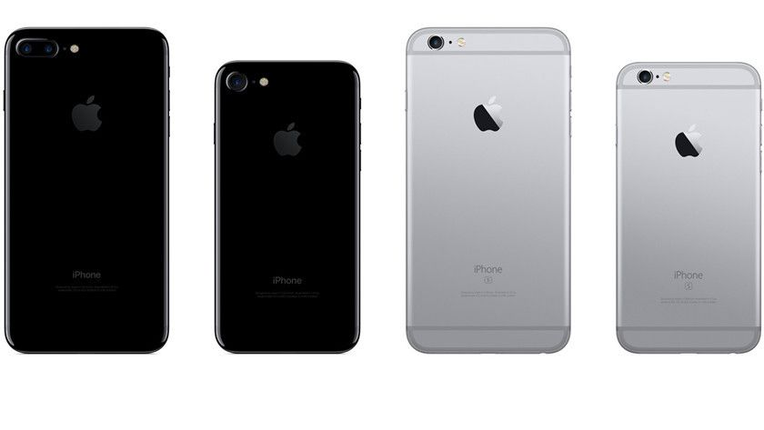 iphone 7 vs iphone 7 plus tamaño
