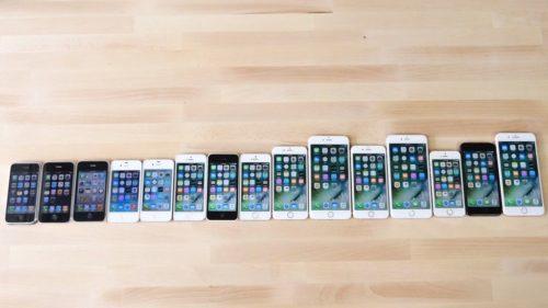 ¿Qué iPhone es más rápido? Este vídeo los compara a todos