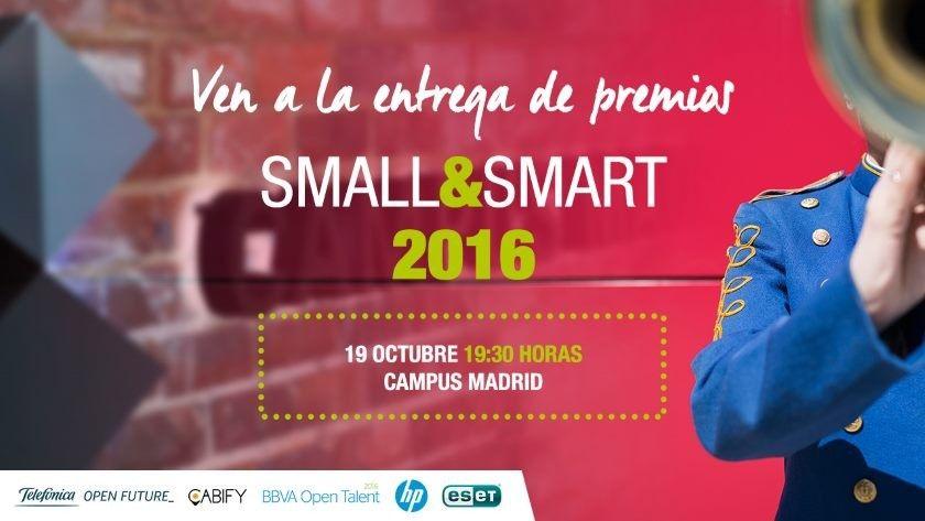 Small&Smart 2016, ¡te invitamos al mejor evento para emprendedores!