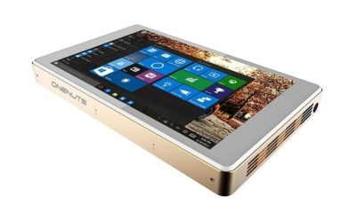 Onenuts T1, miniPC con pantalla táctil y proyector integrado 41