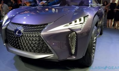 Lexus UX Concept, un coche propio de un superhéroe 136