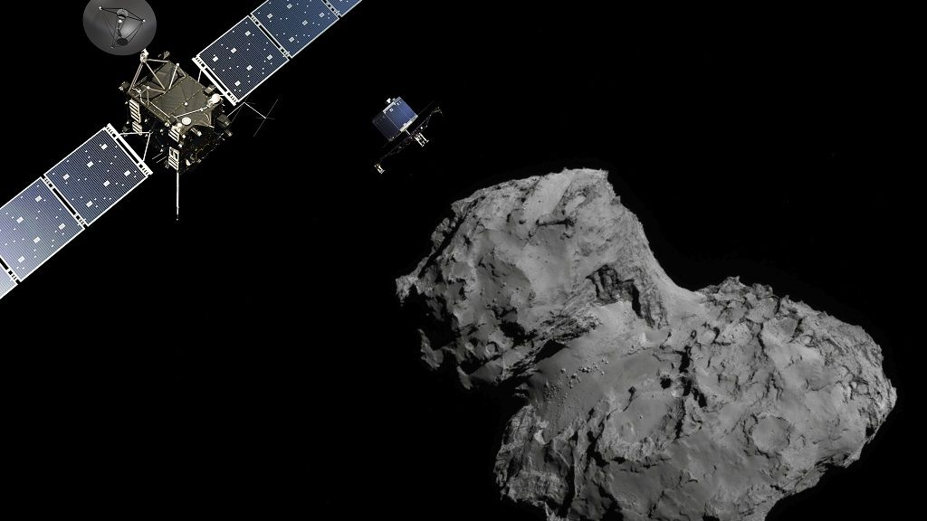 Adiós a la nave Rosetta, una de las misiones espaciales más importantes 31