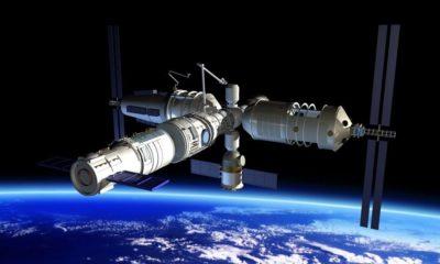 La estación espacial china se estrellará en la Tierra 94
