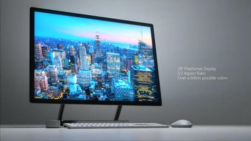 Surface Studio, características del nuevo todo en uno de Microsoft 32