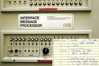 Se cumplen 47 años del primer mensaje enviado por Internet