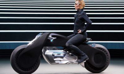 La moto del futuro no necesitará casco según la visión de BMW 48