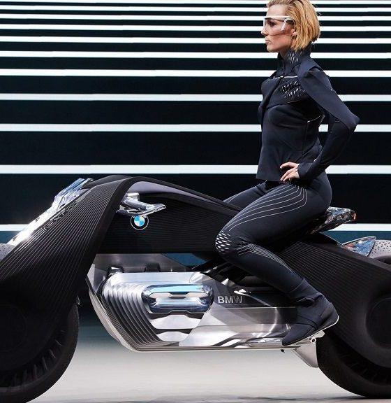 La moto del futuro no necesitará casco según la visión de BMW 32