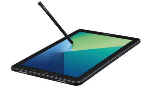 Samsung comercializa Galaxy Tab A con el S Pen del Note 7