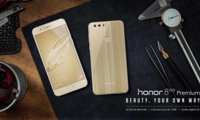 Honor 8 Premium dobla el almacenamiento y añade color dorado 29