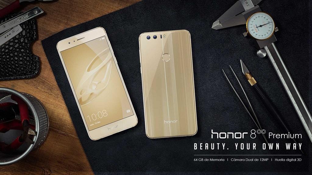 Honor 8 Premium dobla el almacenamiento y añade color dorado 30