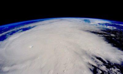 Así de impresionante es el huracán Matthew visto desde la ISS 77