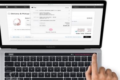 Aquí está el nuevo MacBook Pro con el panel táctil OLED