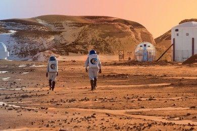 Los astronautas de Marte utilizarán VR para recordar la Tierra