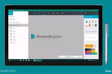 Así es la nueva aplicación Paint de Microsoft, mucho más completa