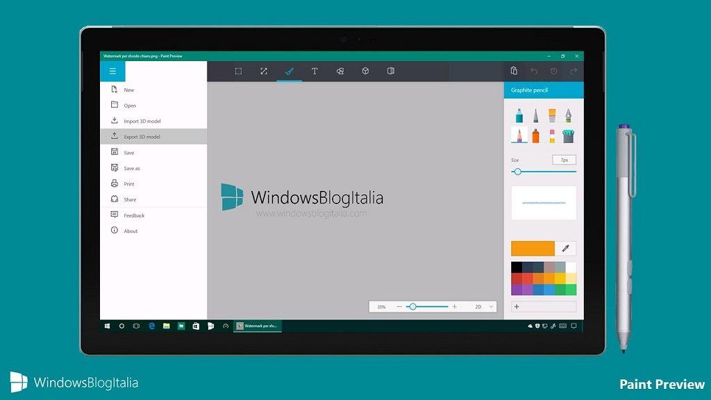 Así es la nueva aplicación Paint de Microsoft, mucho más completa 30