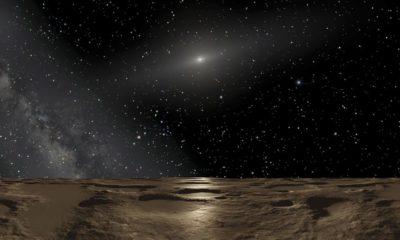 Avistado un pequeño planeta más allá de Plutón 55
