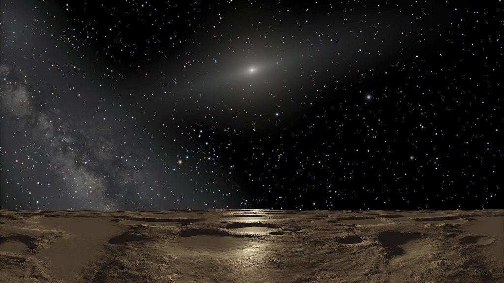 Avistado un pequeño planeta más allá de Plutón 40