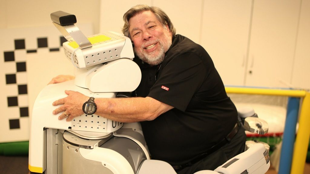 Steve Wozniak no cree que los robots vayan a esclavizarnos 30
