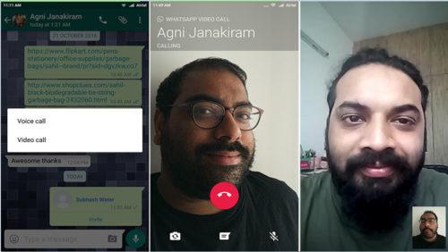 Ya puedes realizar videollamadas con WhatsApp